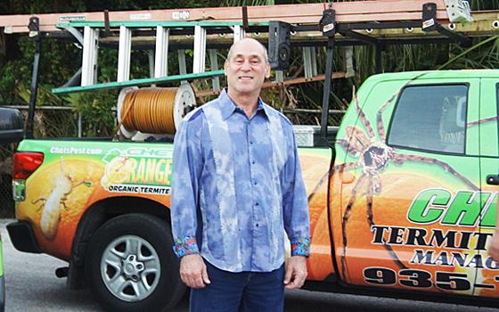 Chet Rowland of Chet's Termite & Pest Management