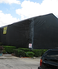 Home Being Tented for Drywood Termites