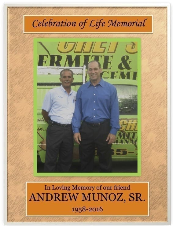 Andrew Munoz celebration of life
