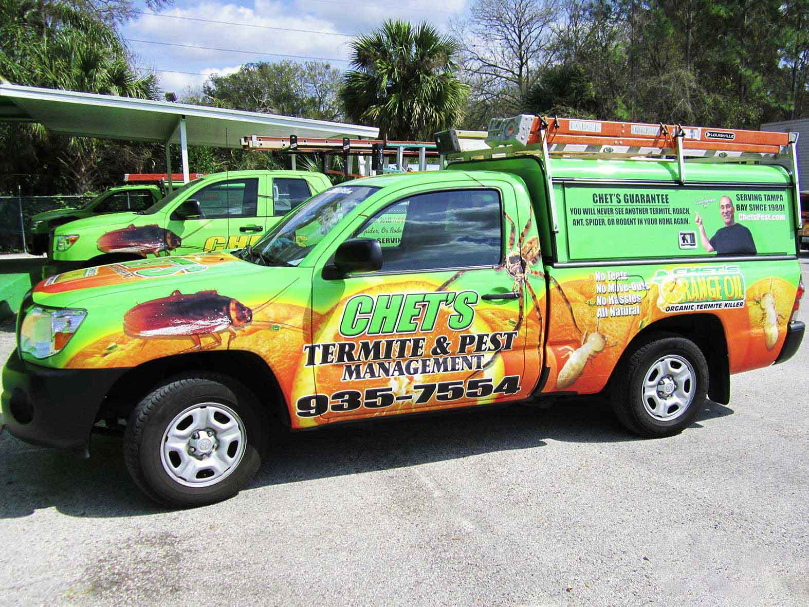 Tampa Pest Control Termite Tenting Treatment Guaranteed